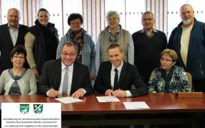Vertragsunterzeichnung Häusliche Hilfen 23.03.2016